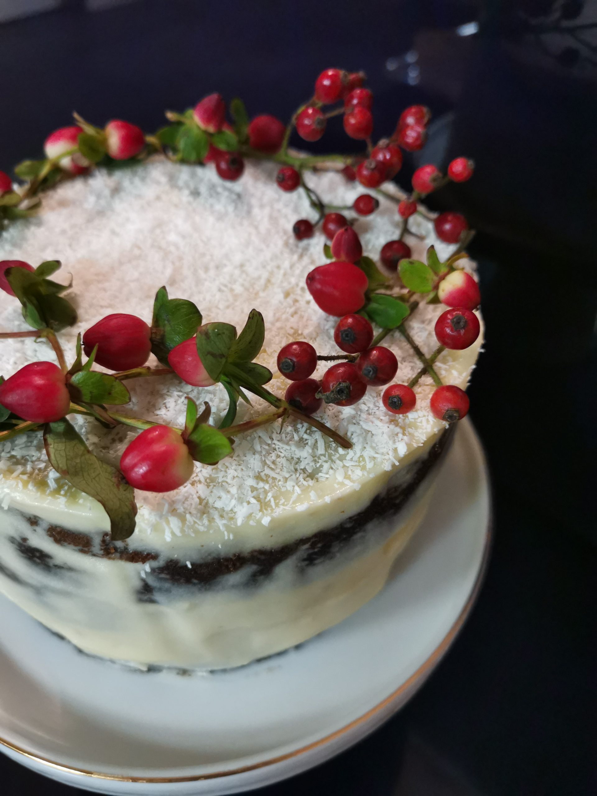 Layer cake de Noël