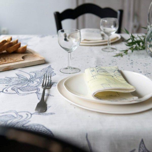 Serviette de Table le Pompon