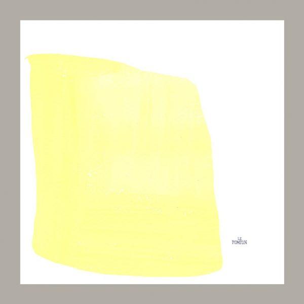 Serviette le Pompon jaune
