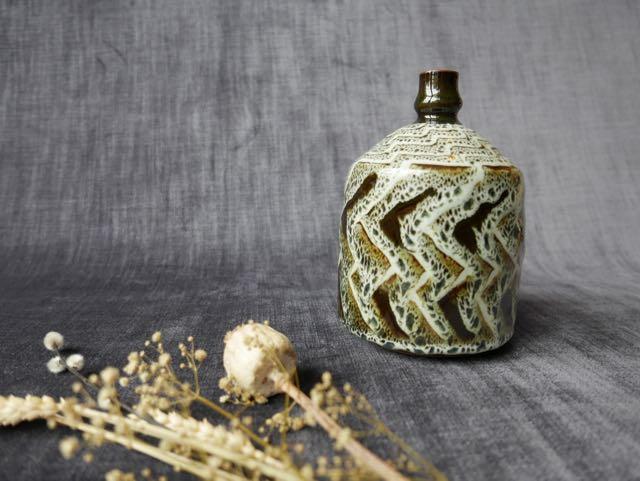 Vase.gres.fleurs.seches