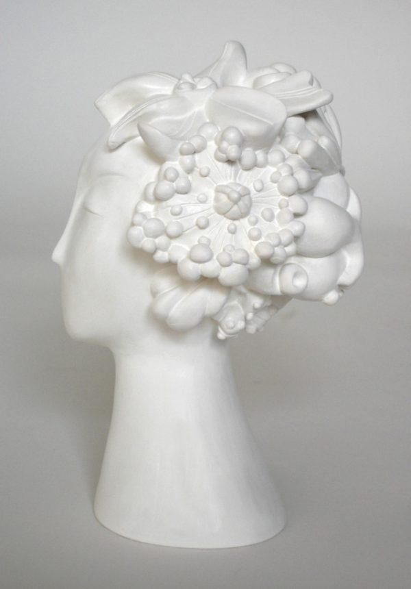 sculpture-femme-fleurs-cecilechareyron-profil